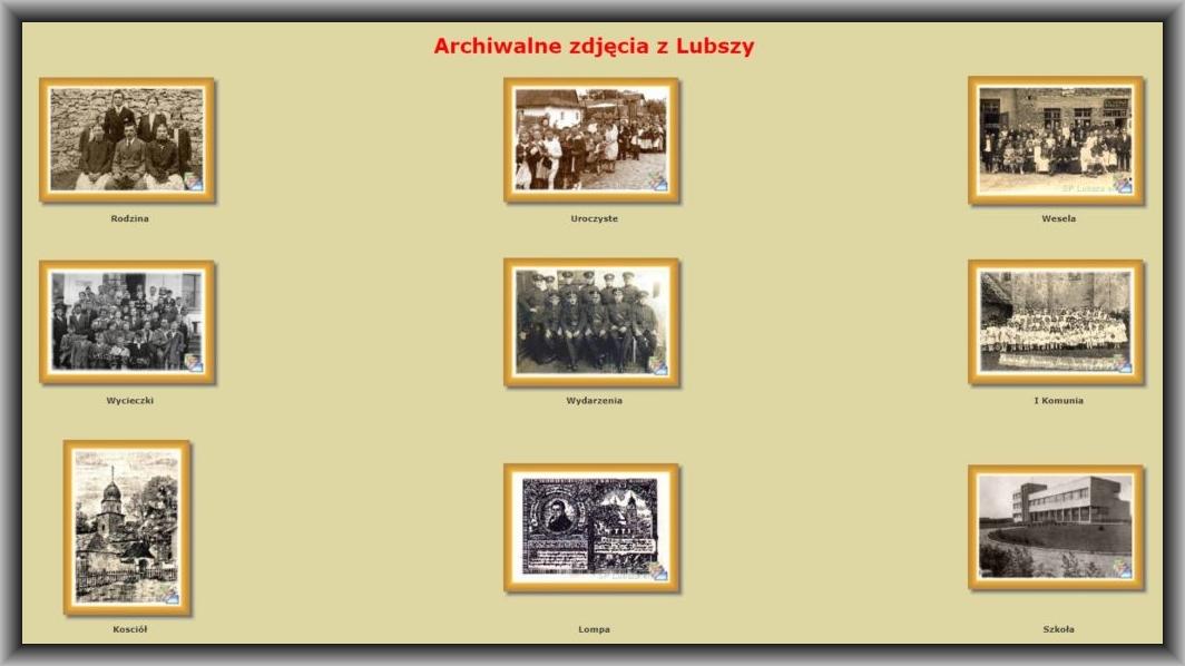 Archiwalne fotografie z Lubszy